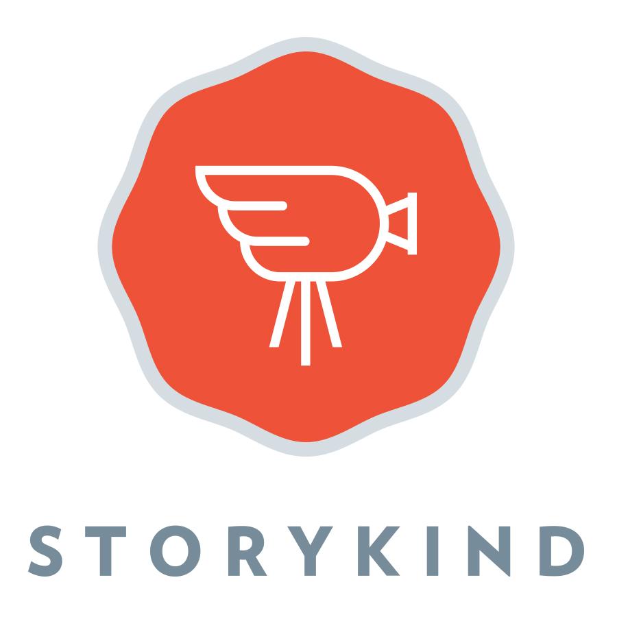 Storykind logo design by logo designer Smidge Design Studio