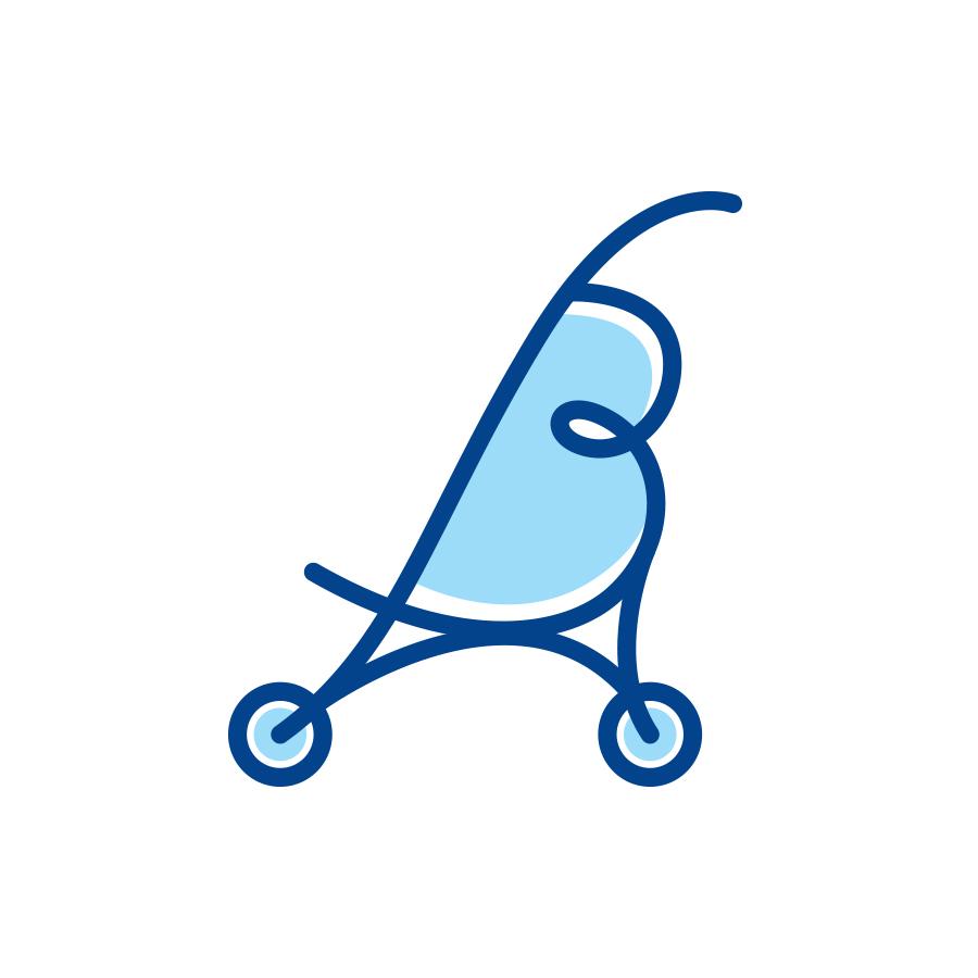 BabyQuip logo design by logo designer Smidge Design Studio