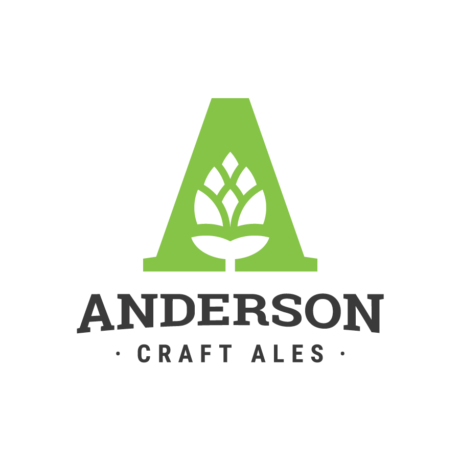 Anderson Craft Ales logo design by logo designer Brett Lair