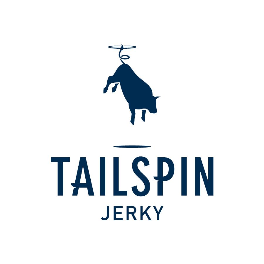 Tailspin Jerky logo design by logo designer Brett Lair