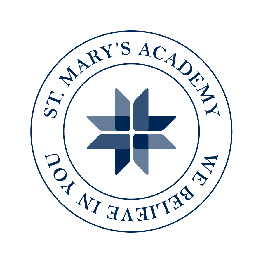 St. Mary's Academy Circle Badge