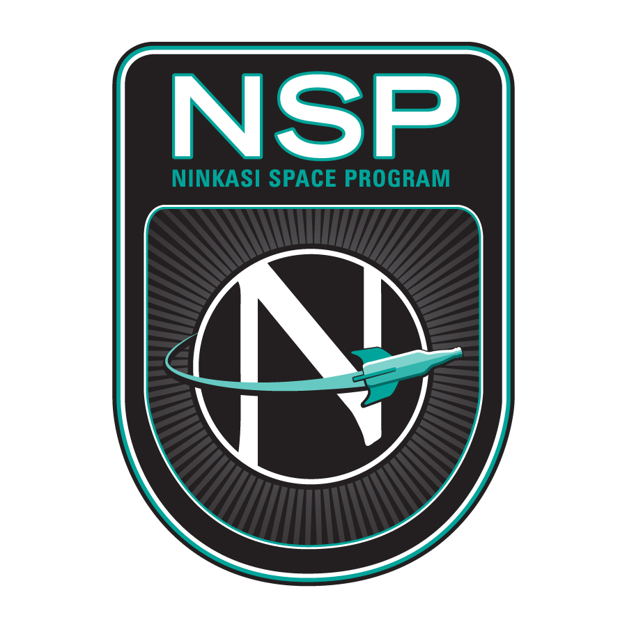 Ninkasi Space Program Primary Logo