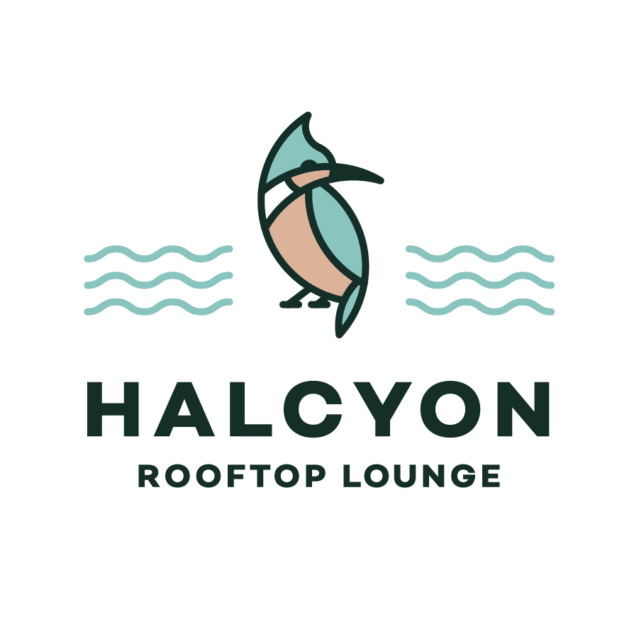Halcyon logo design by logo designer Riddlesticks Creative