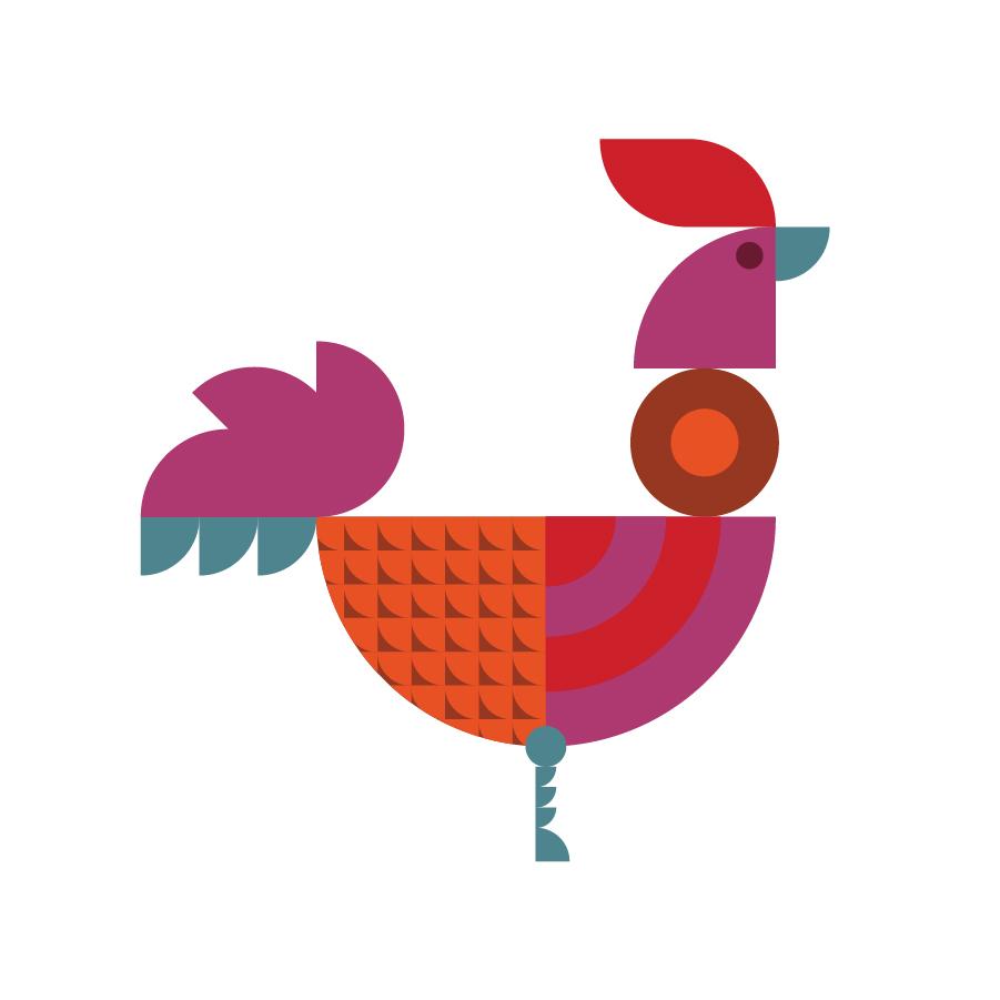 Kikiriki Icon logo design by logo designer Riddlesticks Creative