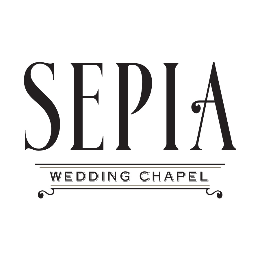 Sepia Wedding Chapel