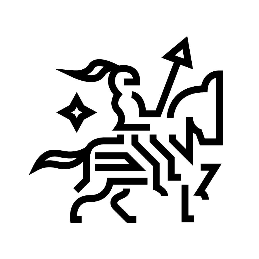 Horse Knight Monogram