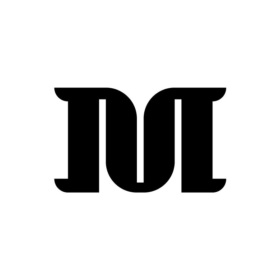 M Monogram Logo Mark