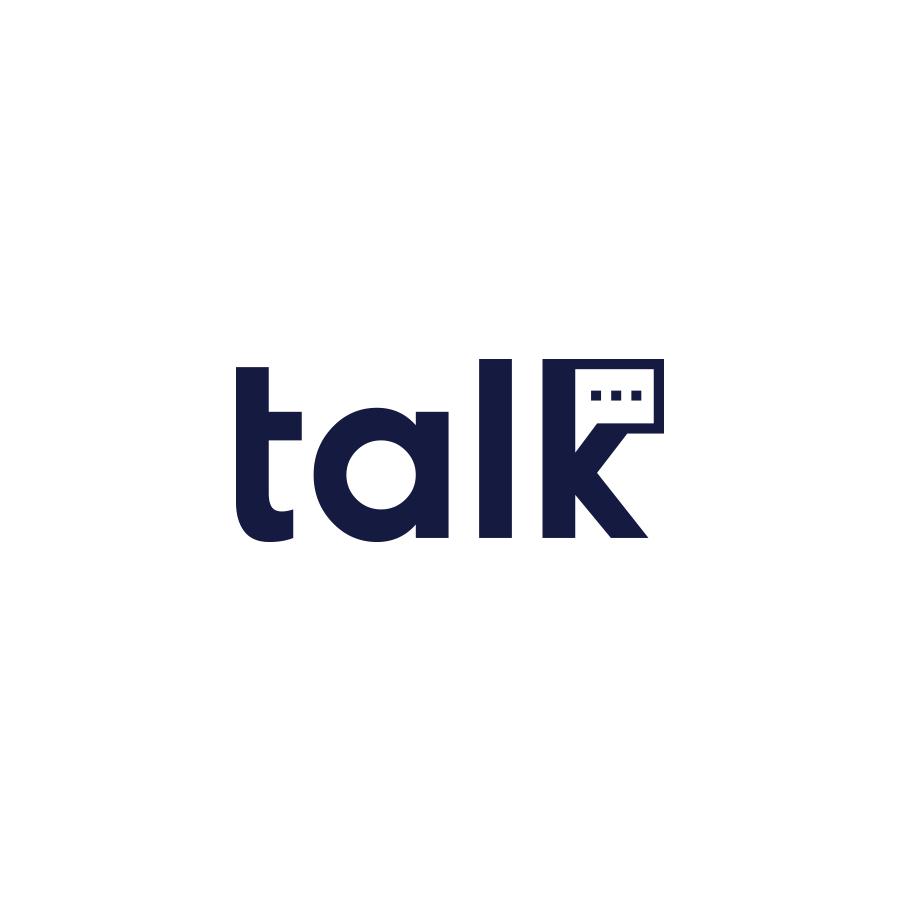 Talk logo design by logo designer Faraz Sheikh