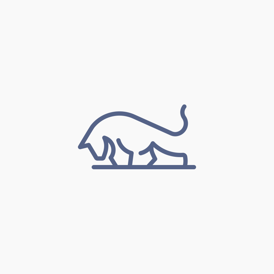 Bull logo design by logo designer Faraz Sheikh