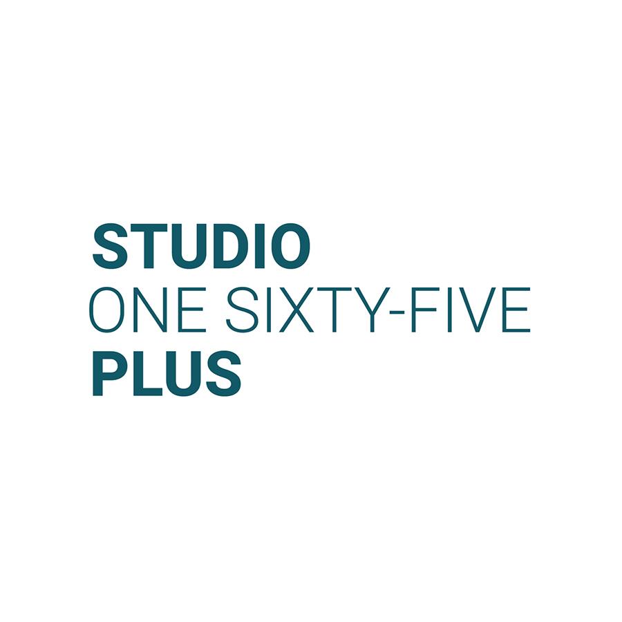 Studio 165+ Signature Stacked logo design by logo designer Studio 165+