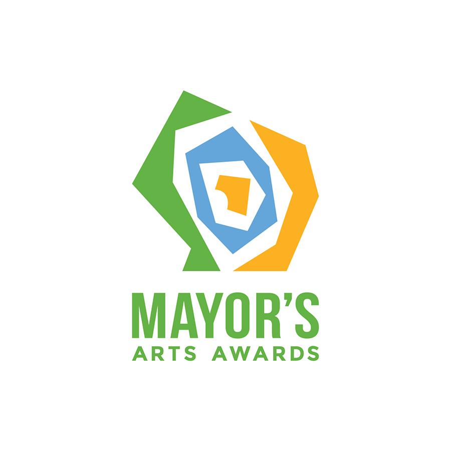 Mayor's Arts Awards Tertiary Lockup logo design by logo designer Studio 165+