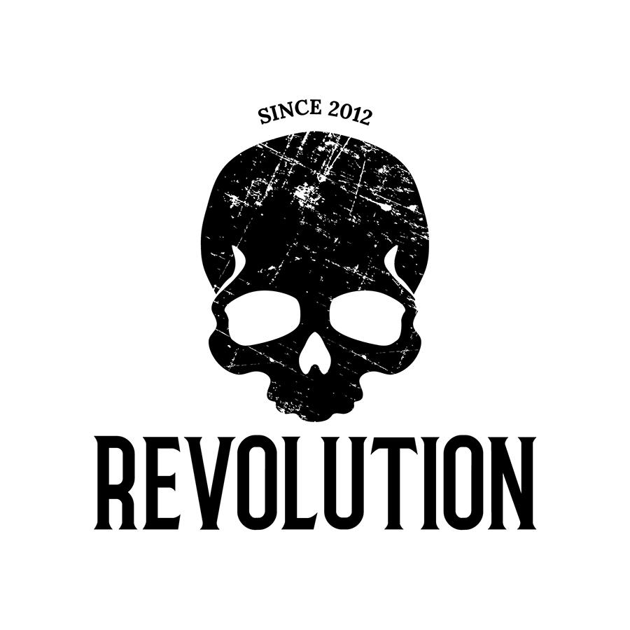 Revolution Preferred Lockup with Texture logo design by logo designer Studio 165+