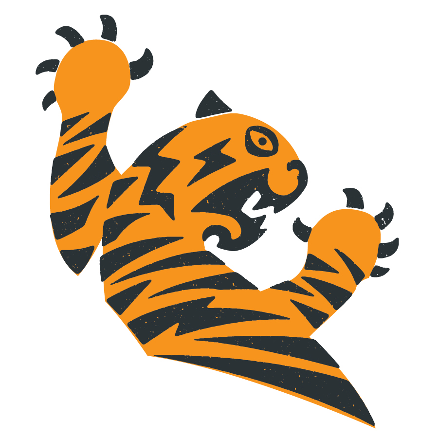 Tiger logo design by logo designer TopicCreative for your inspiration and for the worlds largest logo competition