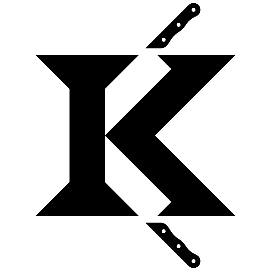 Knives logo design by logo designer TopicCreative for your inspiration and for the worlds largest logo competition