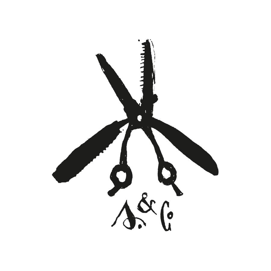 Scissors & Co. logo design by logo designer vacaliebres