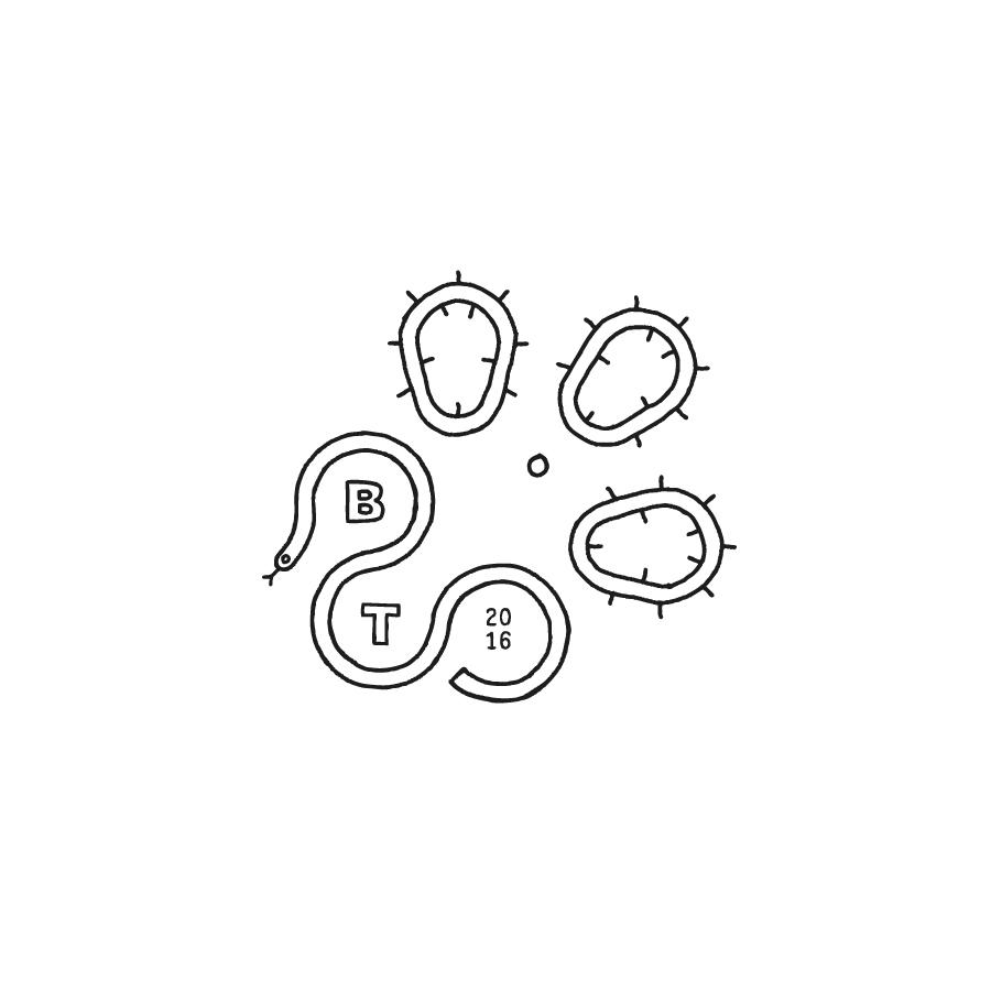 bent taco logo design by logo designer vacaliebres
