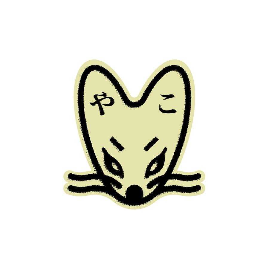 Bosozoku Kitsune logo design by logo designer vacaliebres