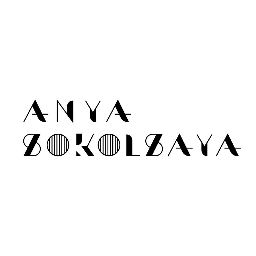 Logo for interior design studio Anya Sokoskaya