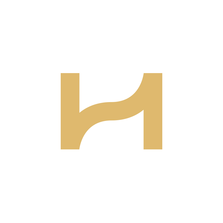 ZH monogram logo design by logo designer Jokula