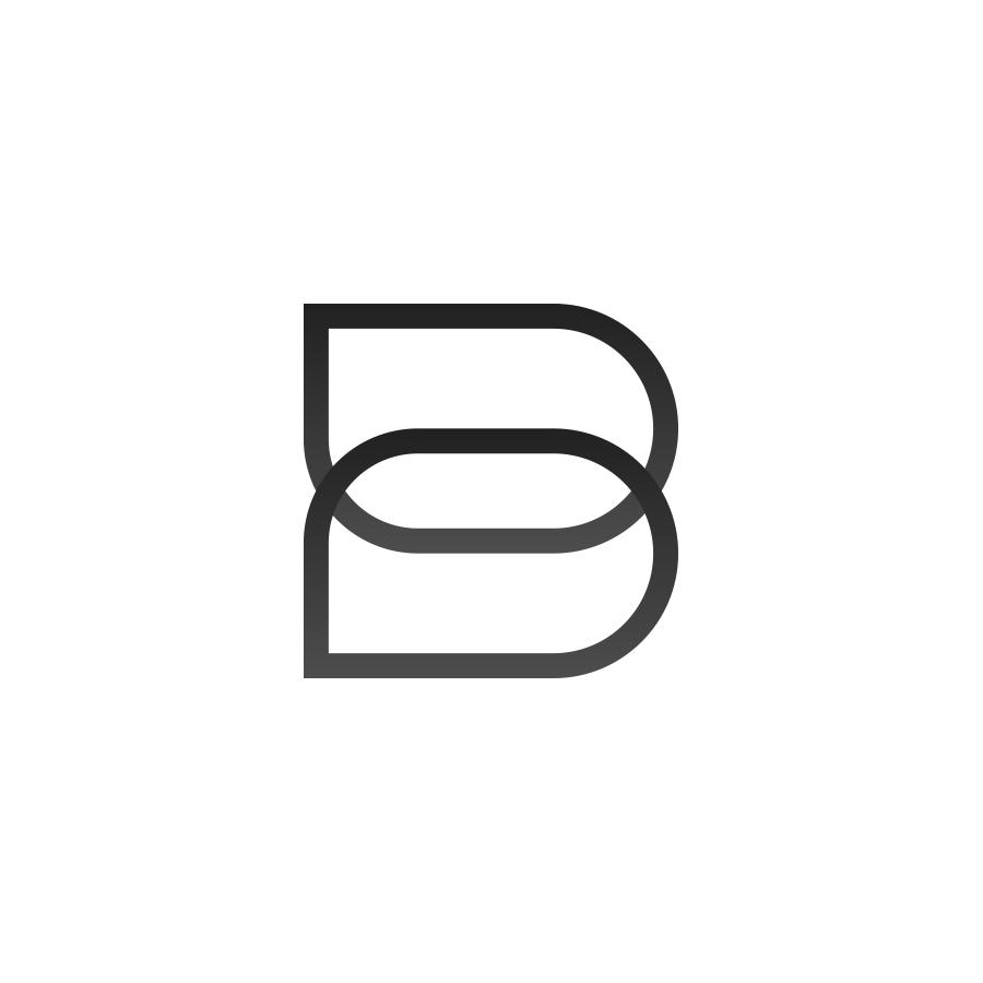 B logo logo design by logo designer Jokula
