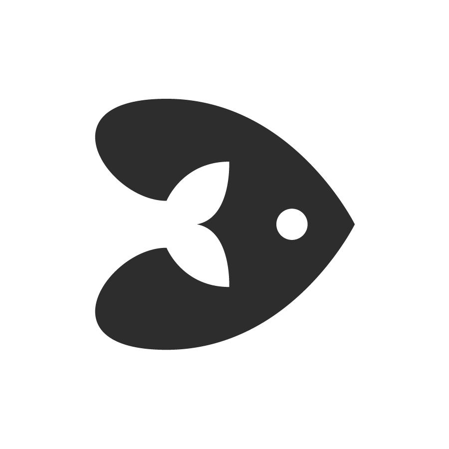 Fish logo design by logo designer Stetson Finch Design