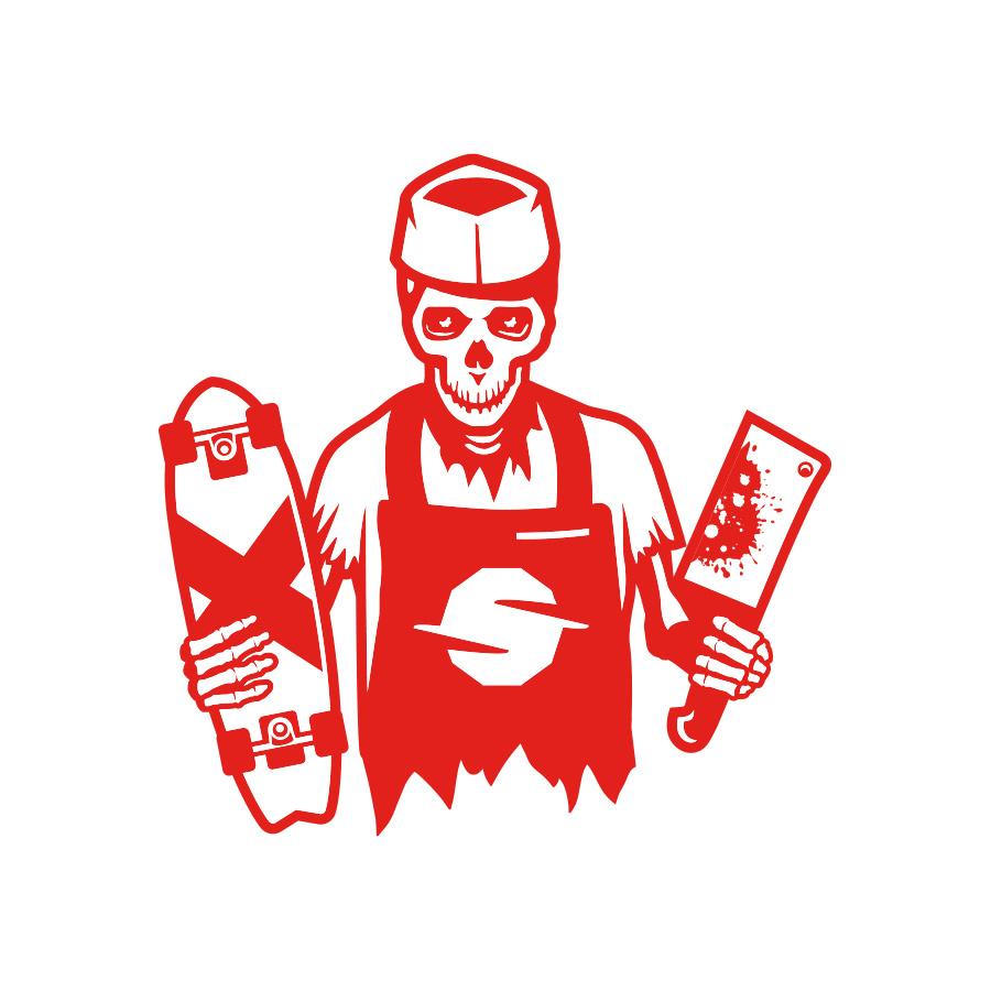 Slaughterhouse Boards - Butcher logo