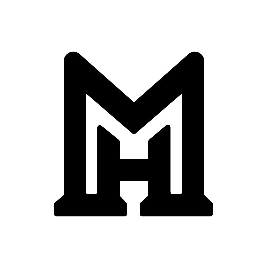 MH Monogram (Concept 8) logo design by logo designer RMS   design + graphics for your inspiration and for the worlds largest logo competition