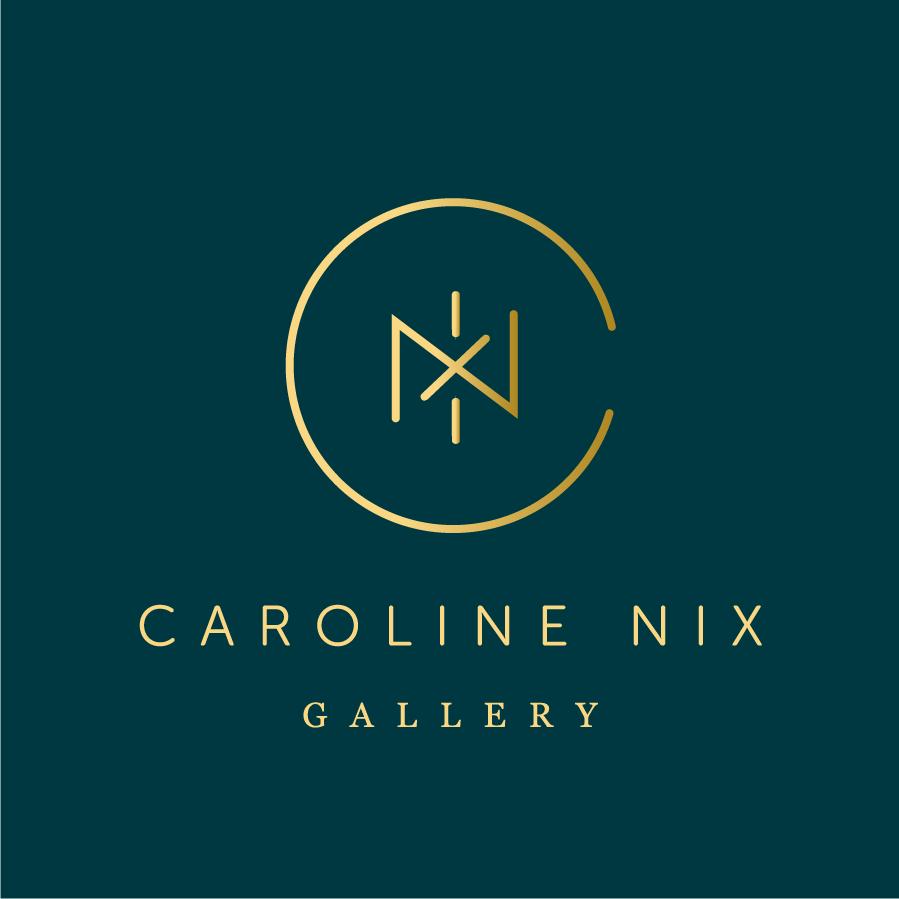 Caroline Nix Gallery logo design by logo designer Hokayem Branding & Design