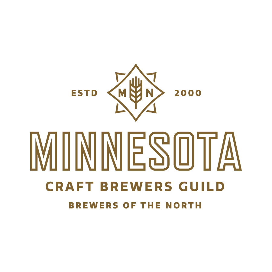 MN Craft Brewers Guild Wheat Star Logo