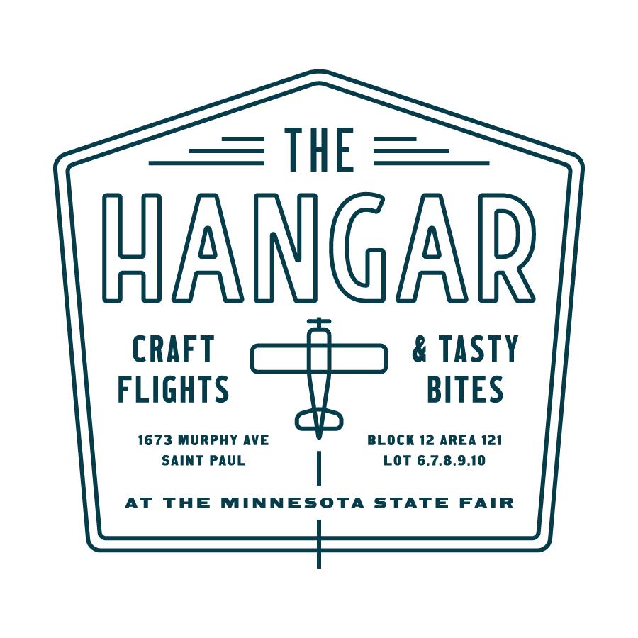 The Hangar Plane Badge