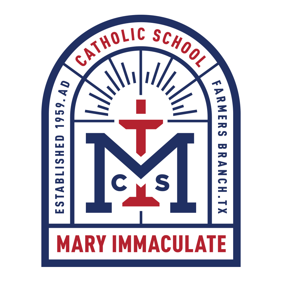 Mary Immaculate spec logo