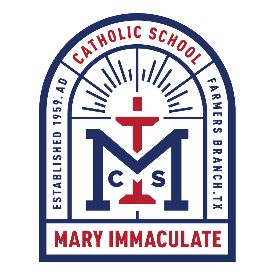 Mary Immaculate Catholic School updated logo concept