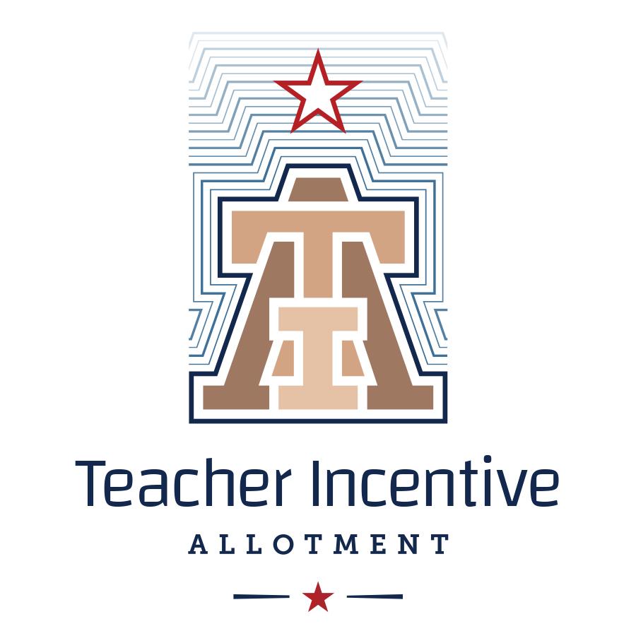 Teacher Incentive Allotment logo concept