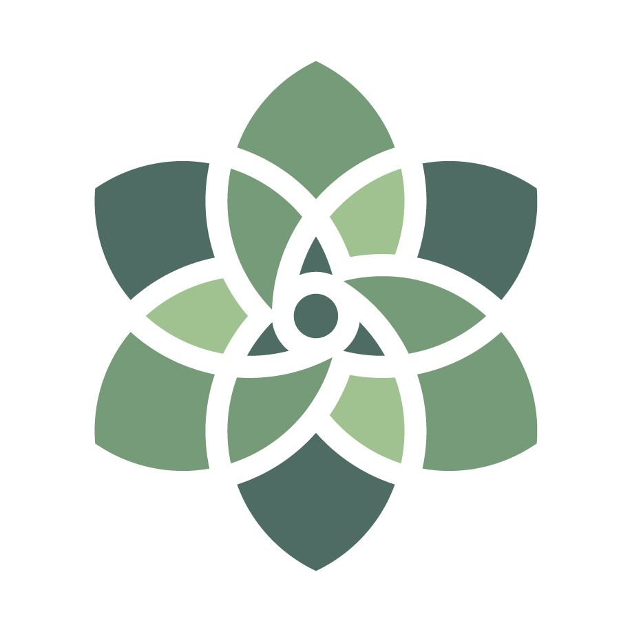 Organic India Student Logo Green Leaf