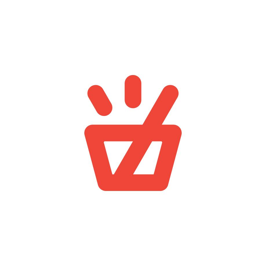 In Case of Emergency Empty Glass Logo