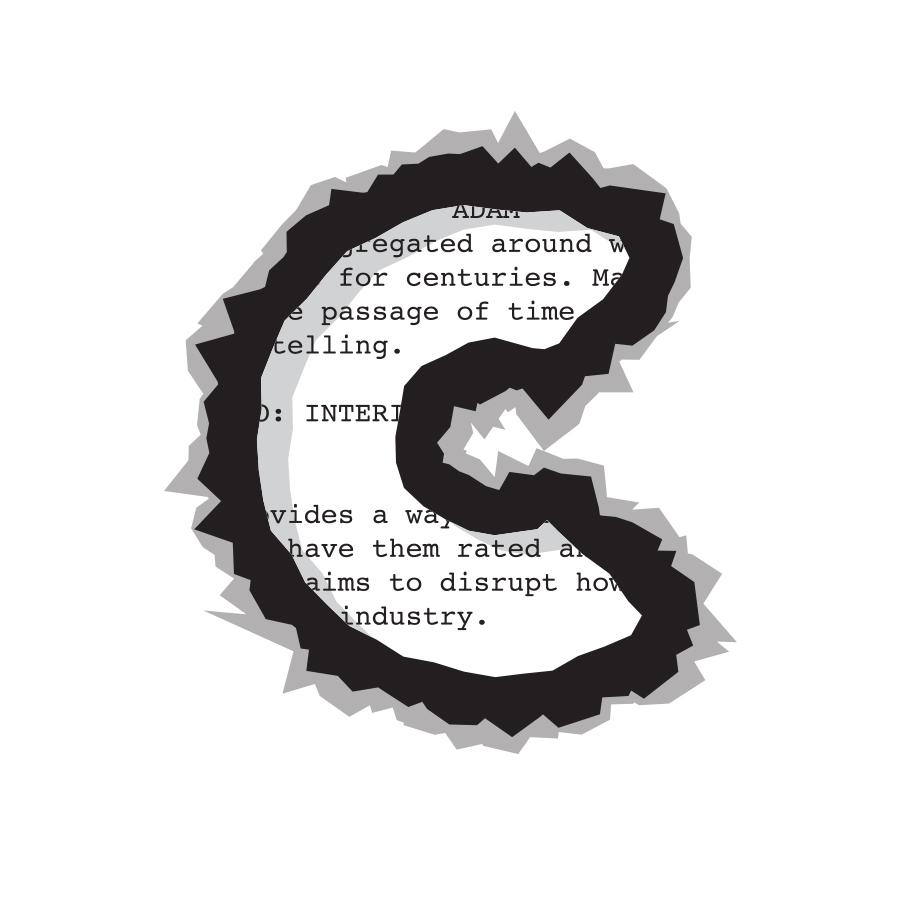 Burnt C logo design by logo designer Jason Barry