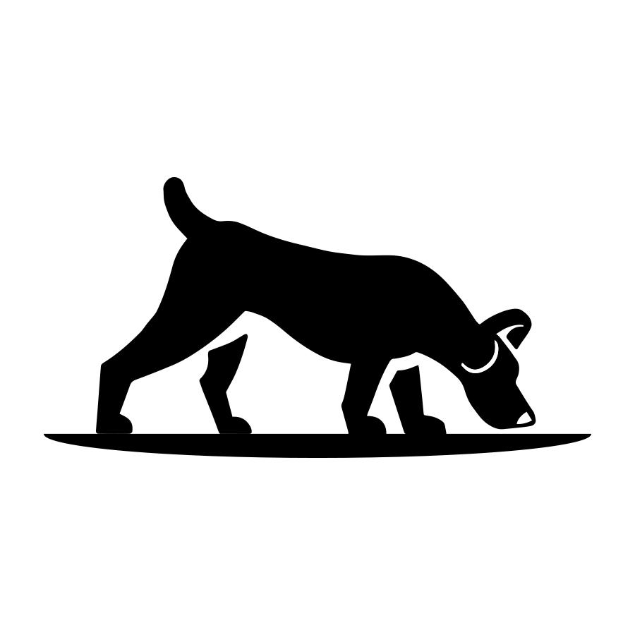 Dog Tracks logo design by logo designer Jason Barry