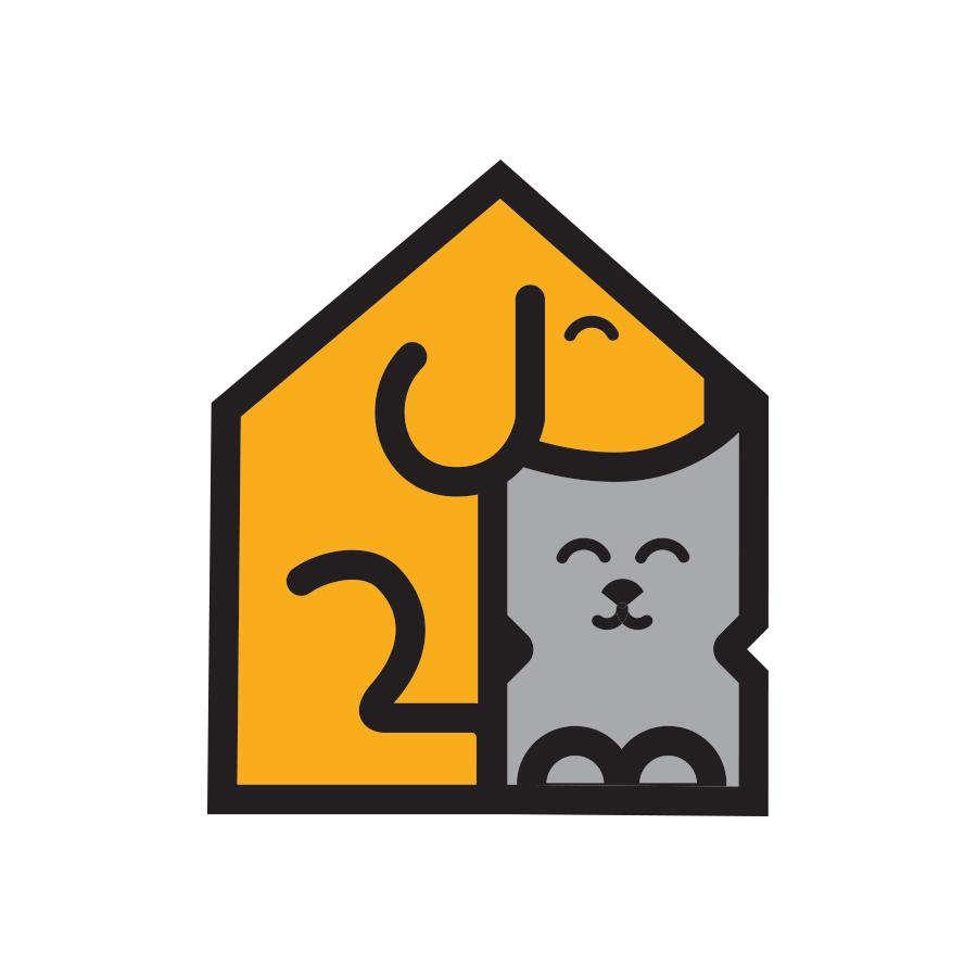 Petsitter logo design by logo designer Jason Barry