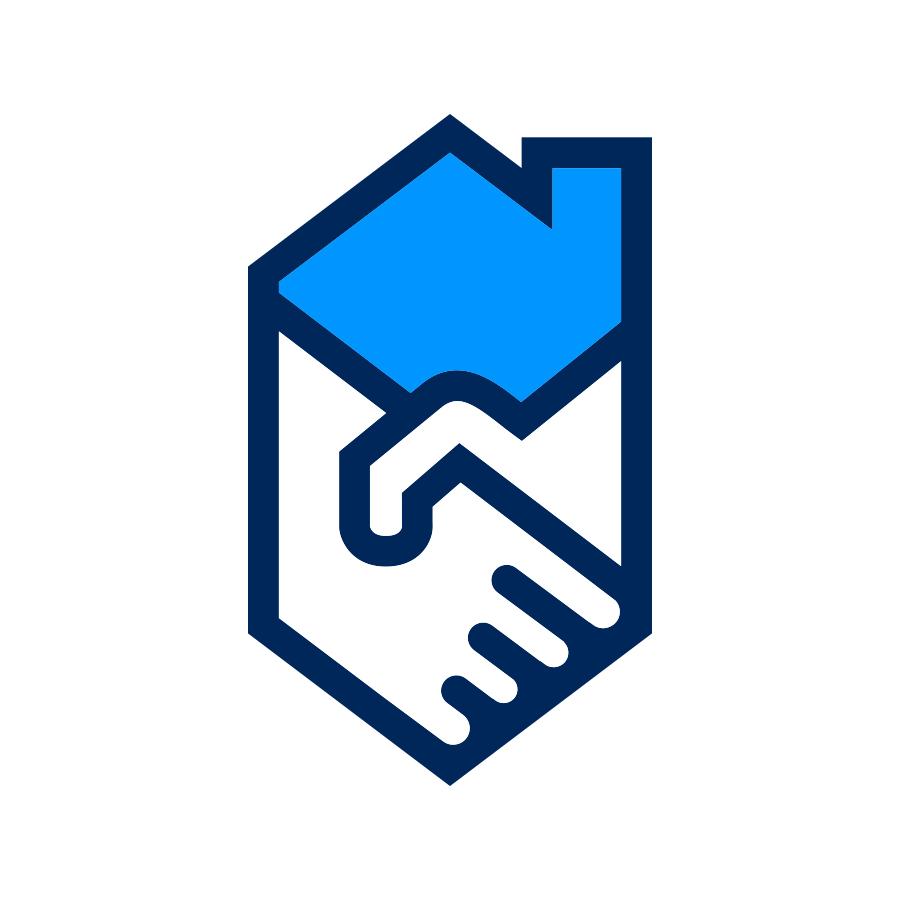 Handshake House logo design by logo designer Jason Barry