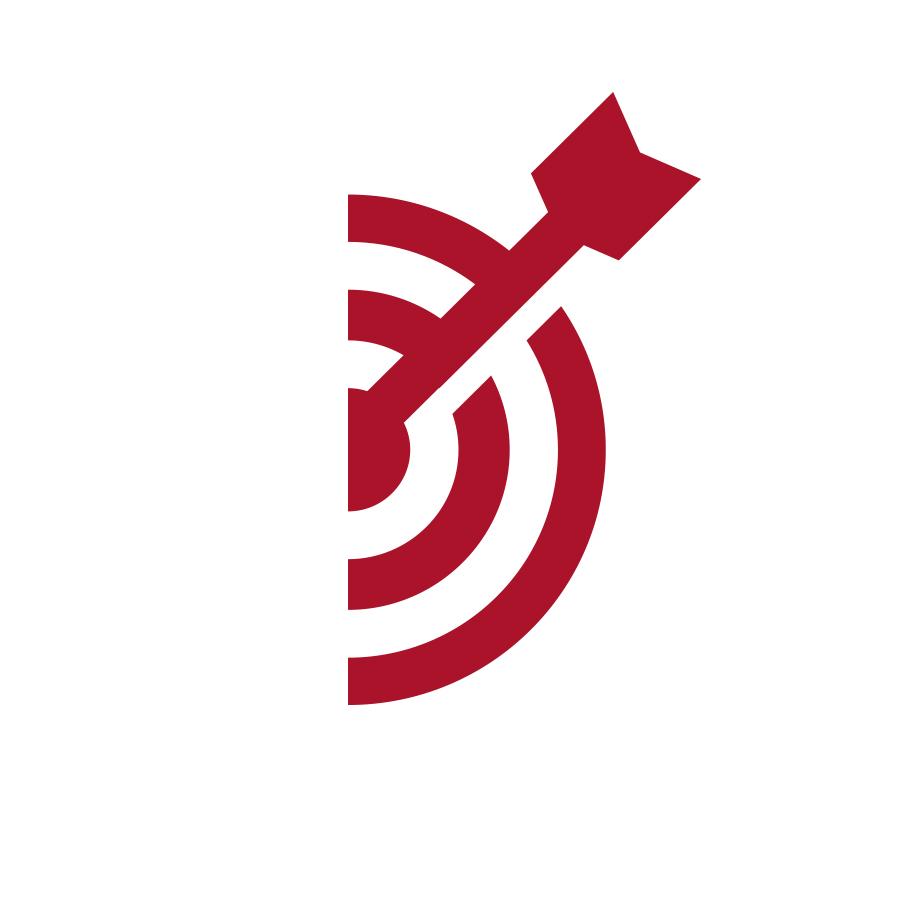 Direct Mail Target logo design by logo designer Jason Barry
