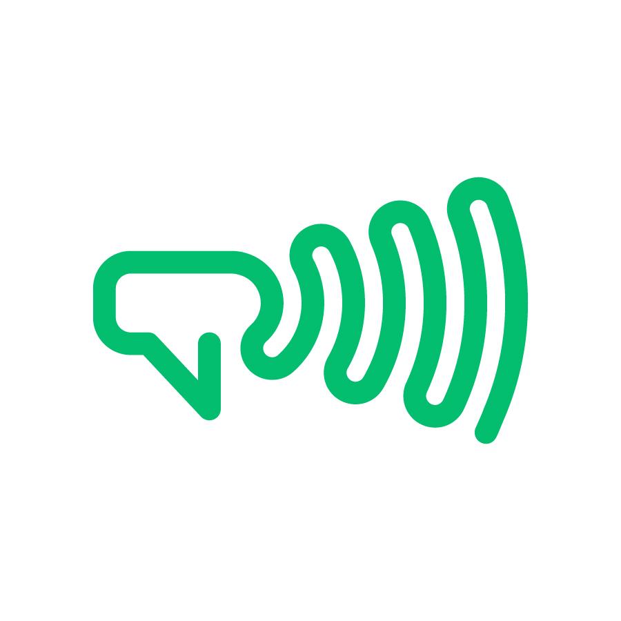 Frontvoice logo design by logo designer Omnium Studio