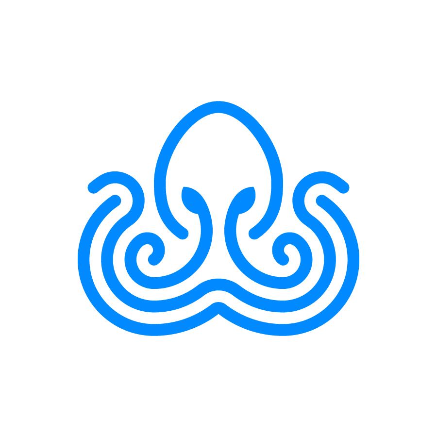 Octopus logo design by logo designer Omnium Studio