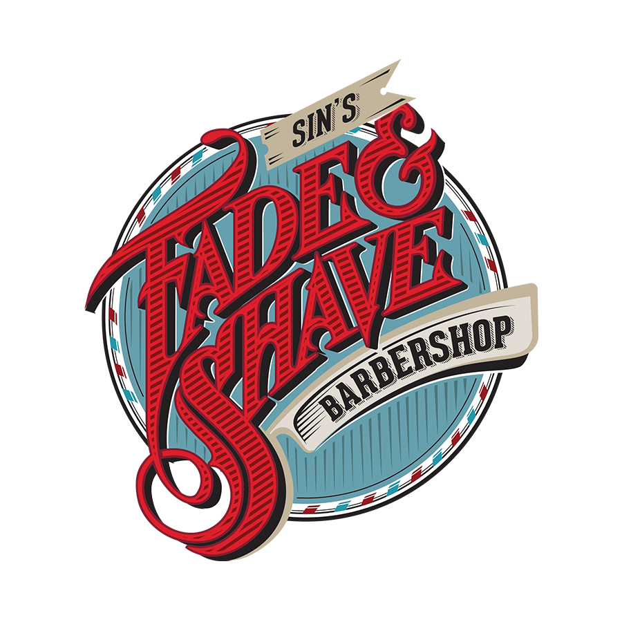 Sin's Fade & Shave Barbershop Color