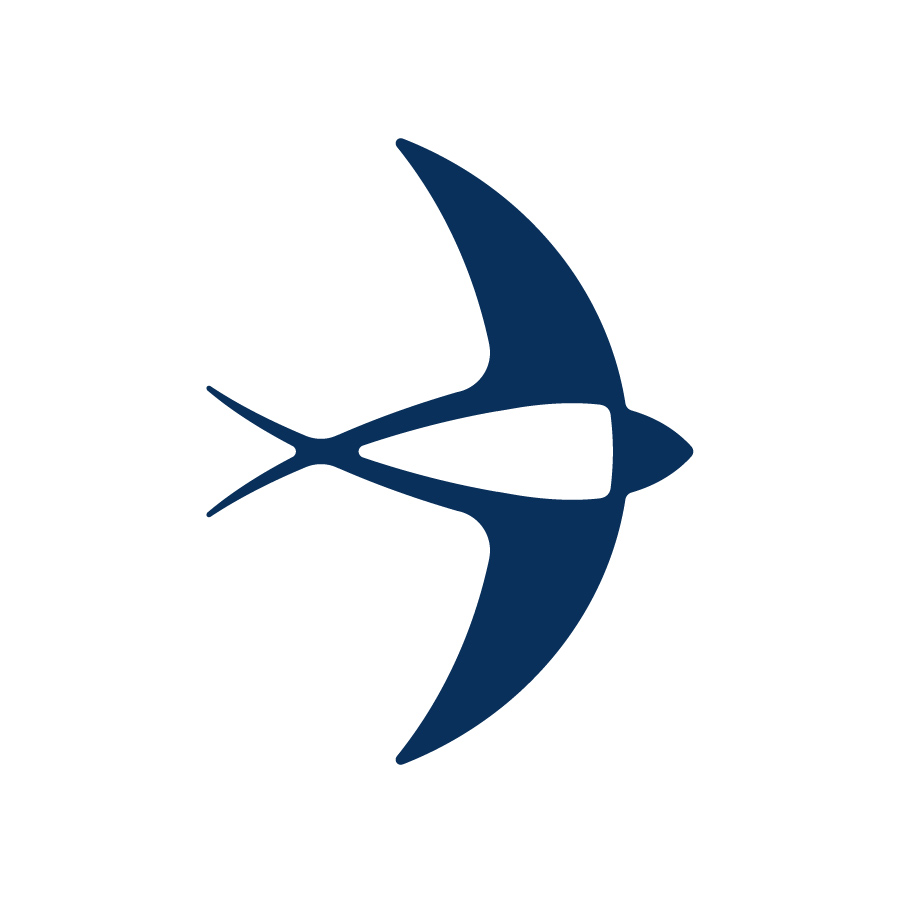 swallow logo design by logo designer Mazaki Studio
