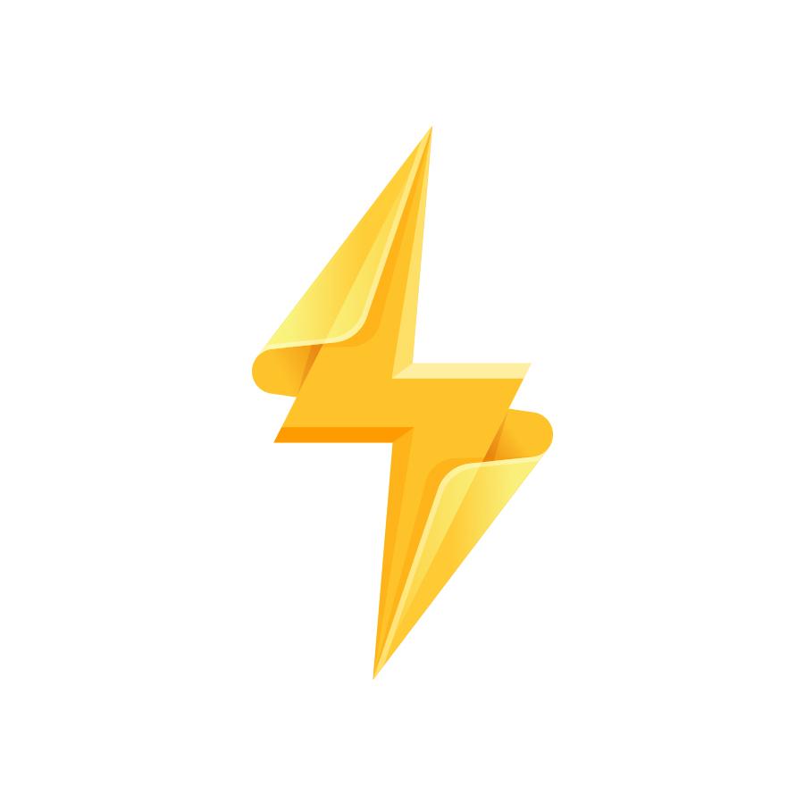 Bolt logo design by logo designer Landon Cooper
