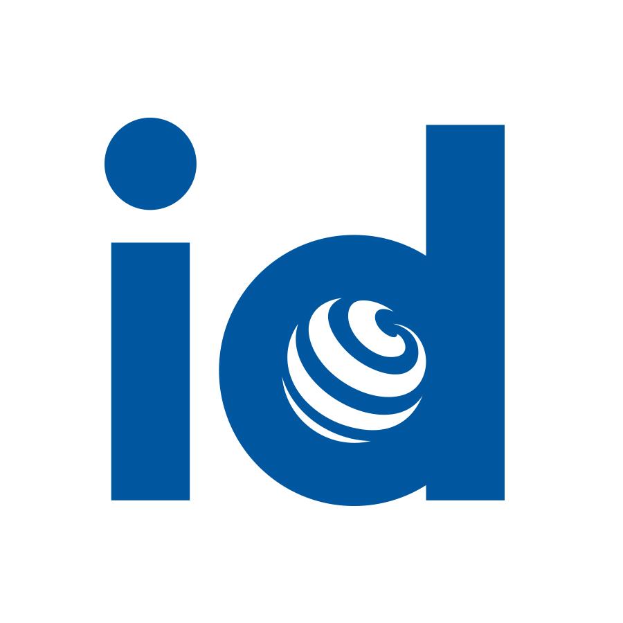 InterDirect logo design by logo designer Joram Hibbel for your inspiration and for the worlds largest logo competition