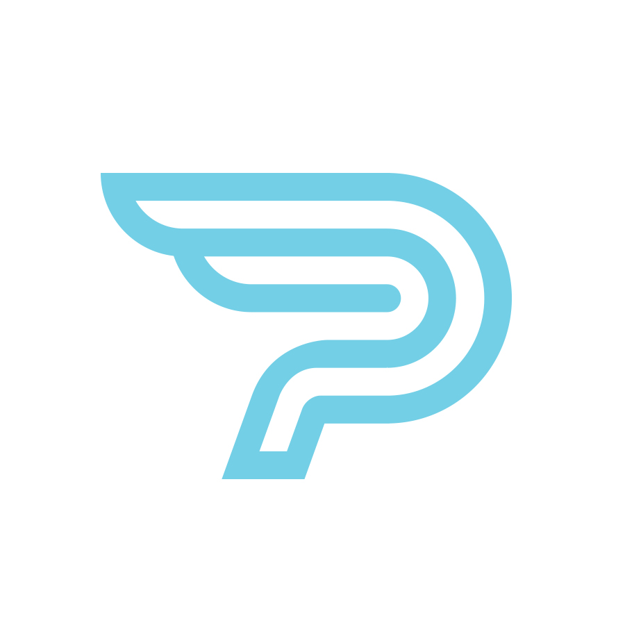 Panisa airlines logo design by logo designer Joram Hibbel for your inspiration and for the worlds largest logo competition
