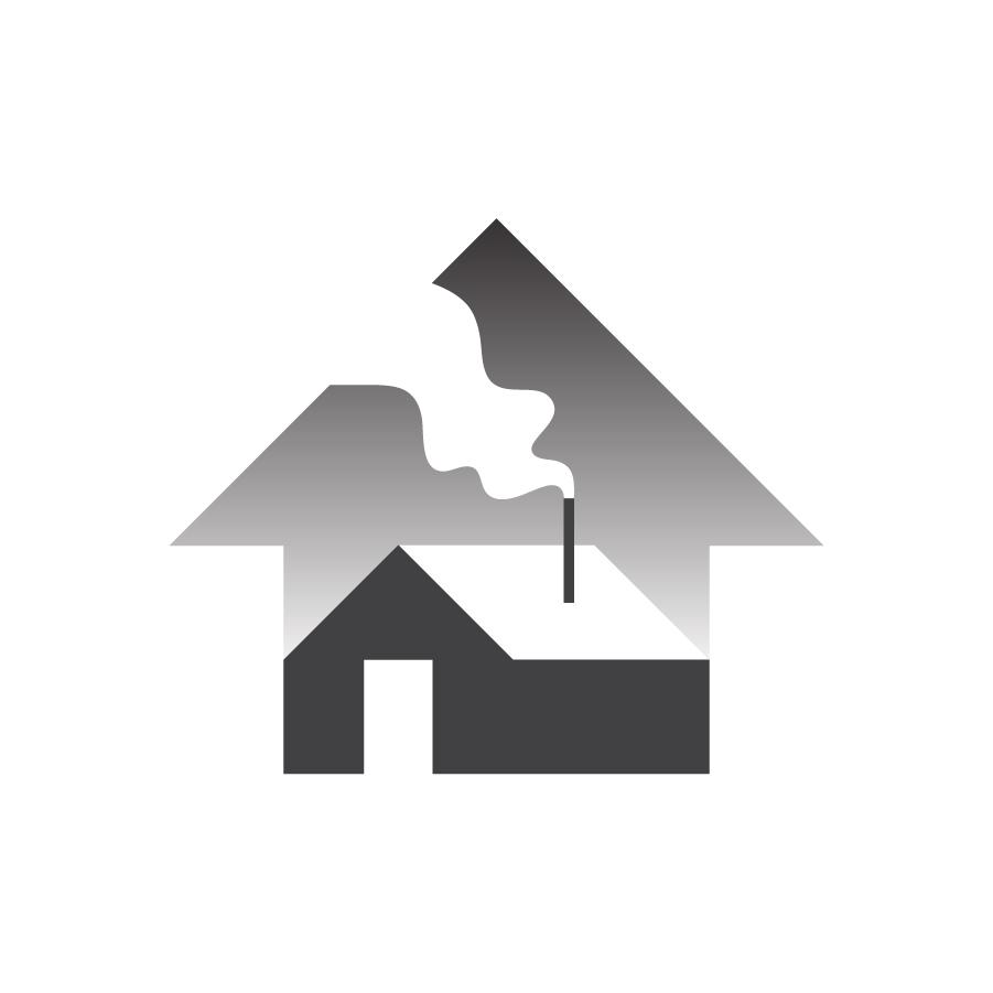 Home logo design by logo designer Hayden Walker Design