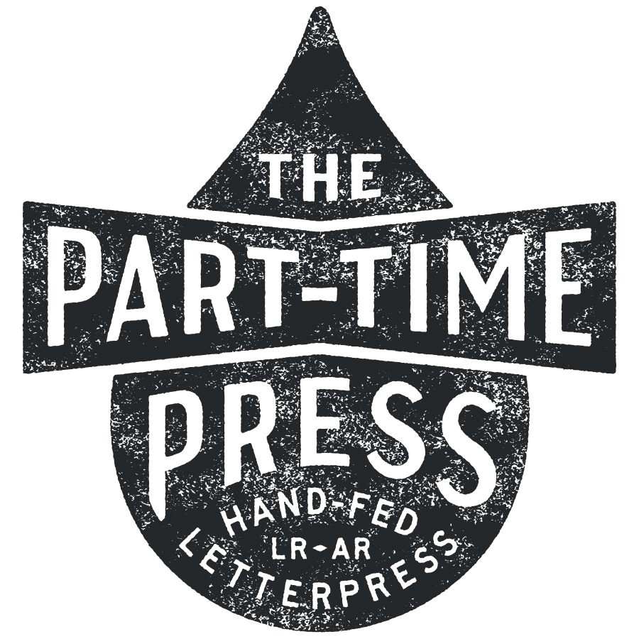 The Part-Time Press Primary Logo