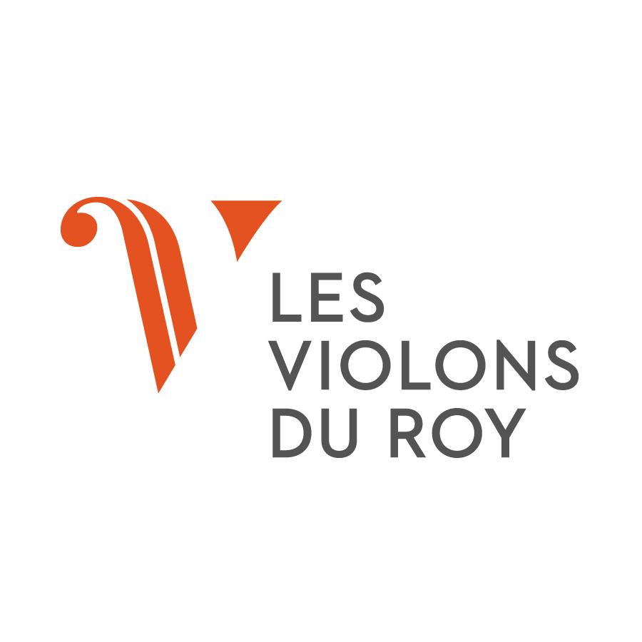 Les Violons du Roy logo design by logo designer Bleuoutremer design